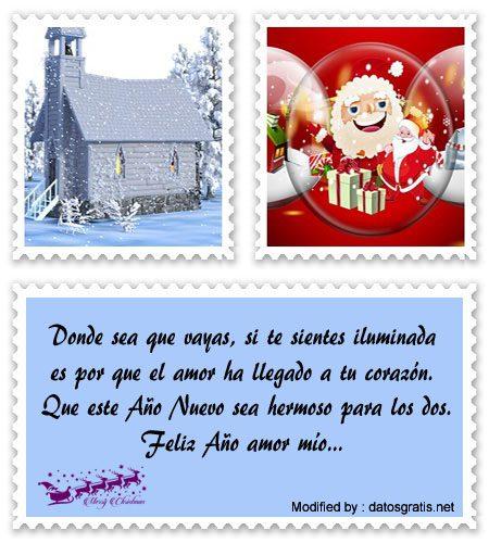 Bellos Mensajes De Navidad Y Ano Nuevo Para Mi Amor Bajar Bonitas