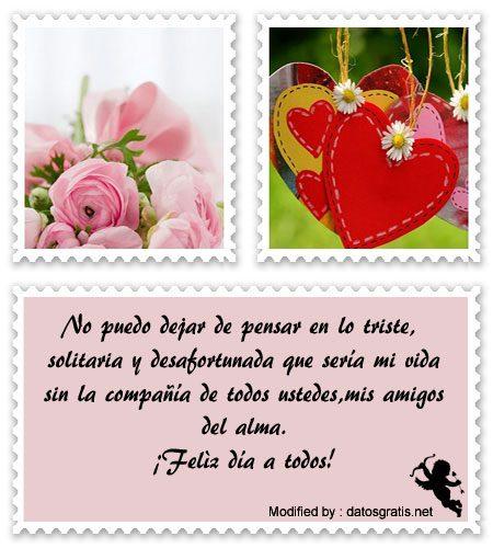 Lindos Mensajes De San Valentín Para Amigosbajar Frases De