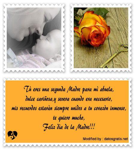Originales Mensajes Por El Día De La Madre Para Mi Abuela