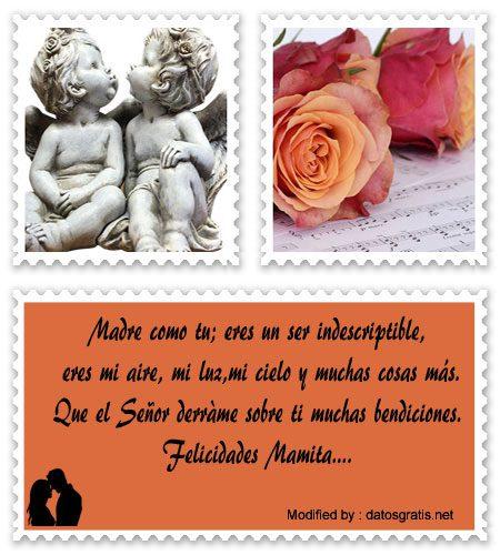 Mensajes Por El Dìa De La Madre Gratis Texos Bonitos Para Mi Madre