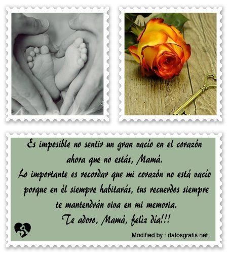 Mensajes Por El Dia De La Madre A Mamà Fallecida