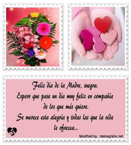 Saludos Y Mensajes A Mi Suegra Por El Dia De La Madre Dia